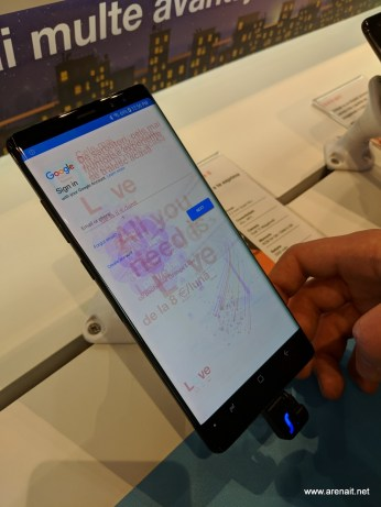 Samsung Galaxy Note 8 burn in