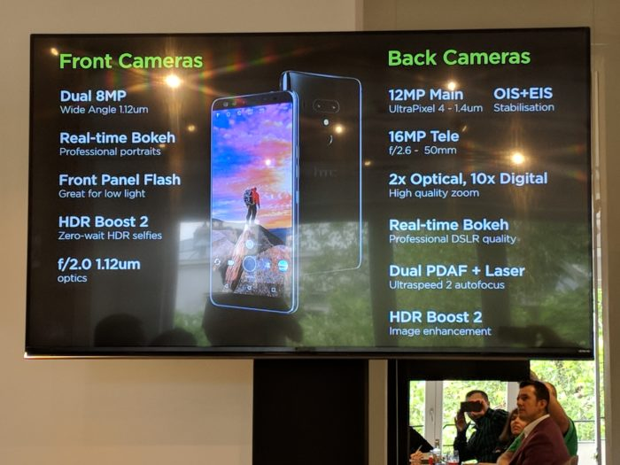 HTC U12+ dezvăluit oficial. Specificații și prime impresii