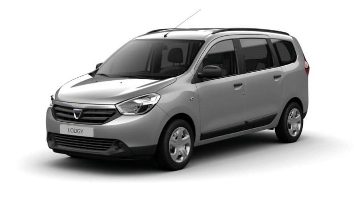 Dacia renunta la modelul Lodgy pentru un SUV