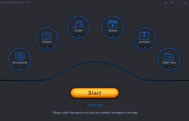 iBeesoft Data Recovery - posibil cea mai simpla si eficienta aplicatie de recuperare a datelor