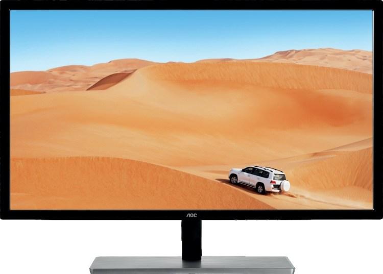 AOC a lansat un monitor pentru birou de 31.5 inch, rezolutie QHD si panou IPS