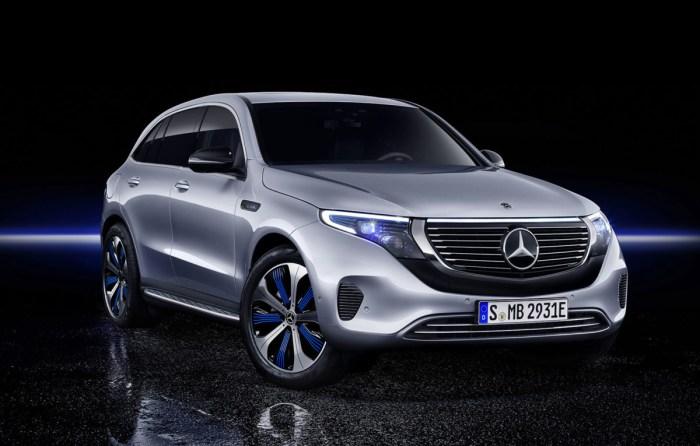 Mercedes EQC - primul SUV complet electric al marcii