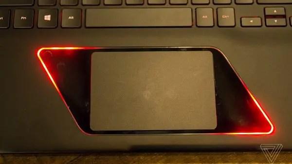 samsung odyssey touchpad