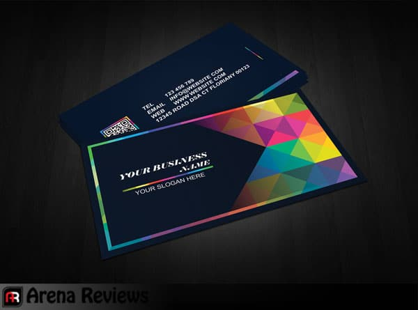 Graphic designer business card graceful black card design it is a graphic designer business card it hit the eye at a glance if it is a creative person such as designers and reheart