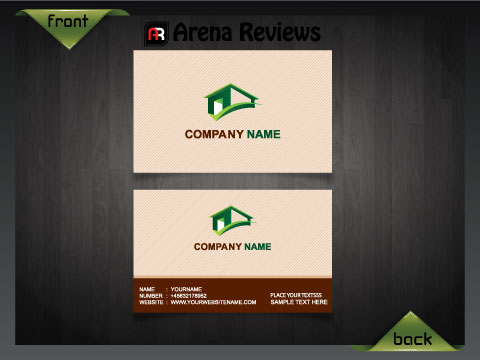 Real Estate Agent Business Card Estate Agency Card Template - Real estate business card templates