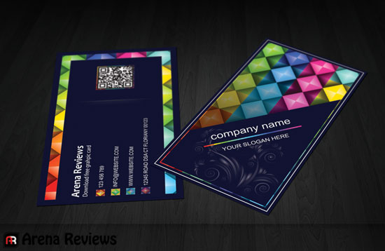 Black graphic designer business card black business card stylish corporate business card template wajeb Gallery