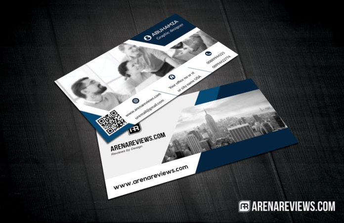 Cityscape Professional Business Card Template - Professional business card templates