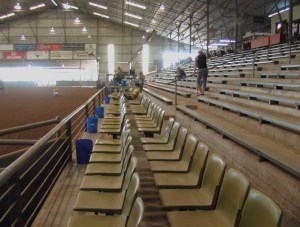 Seating In arena 1