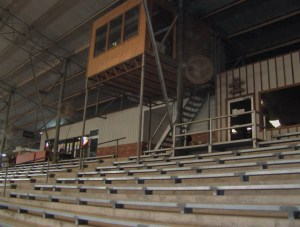 Announcer Booth in arena 1