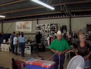 Vendor area in arena 1