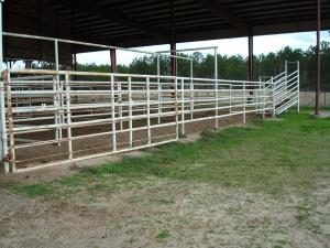 Sabine County Expo Center Fence