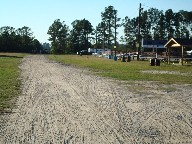 Left side of arena