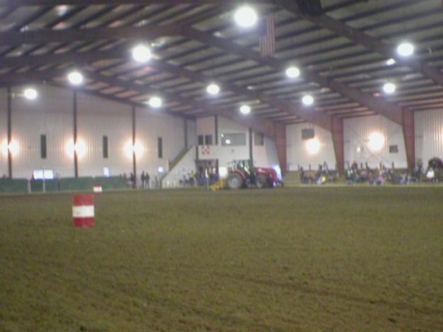 Inside Main arena