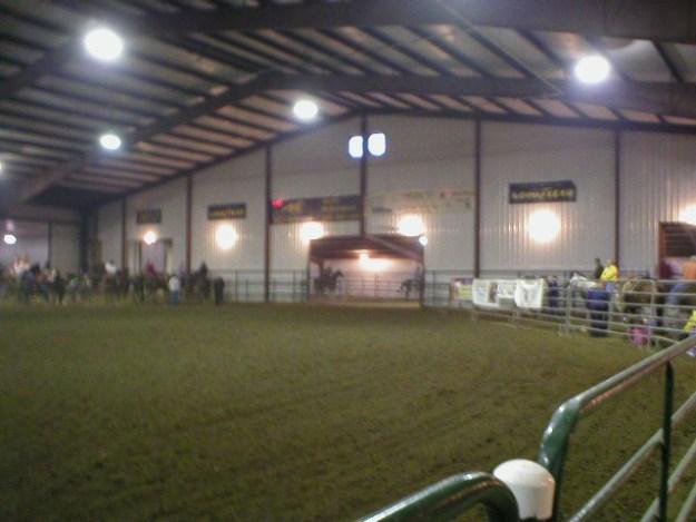 More of main arena