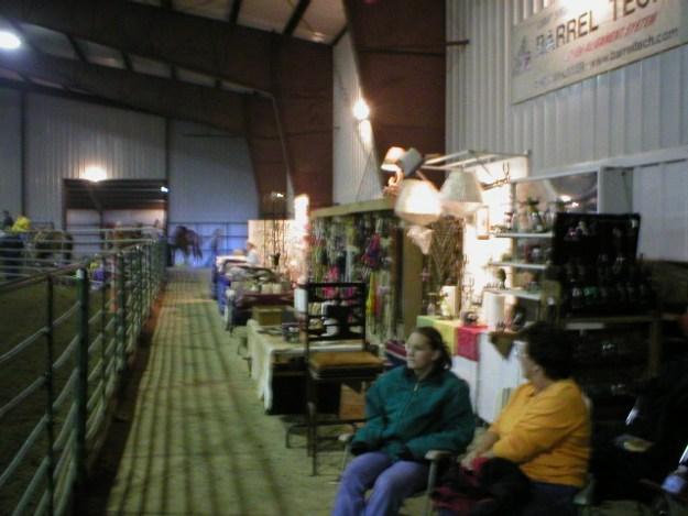 Vendor Booth in main arena