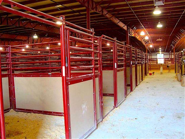 Even more stalls