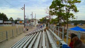 Lee County Posse Arena Bleachers