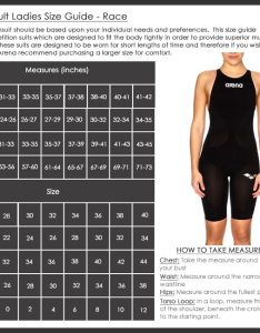 Arena ladies race swimwear size chart also sizing charts rh arenaswimwearstore