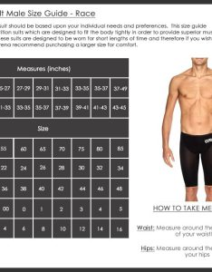 Arena mens race size chart also sizing charts swimwear rh arenaswimwearstore