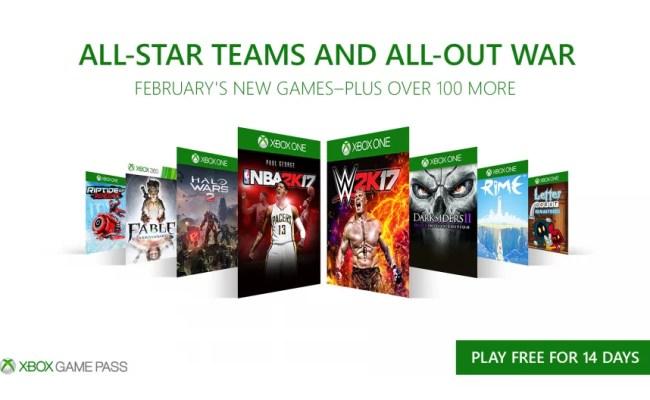 Xbox Gamepass Fevereiro Arena Xbox