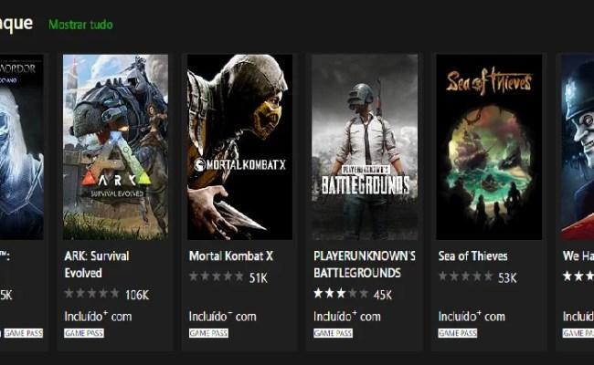 Xbox Game Pass Novos Títulos Chegando Ao Catálogo Arena