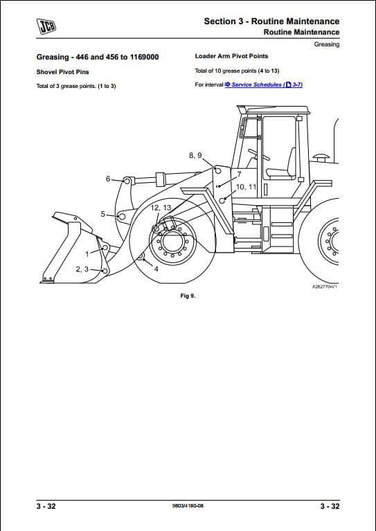 Terex Motor diagram