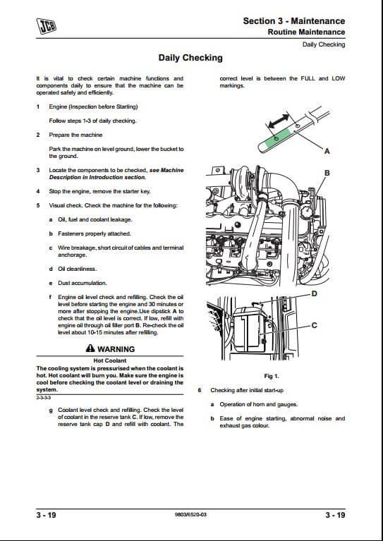 jcb js130 wiring diagram furnace js115, js130, js145, js160, js180 tracked excavators service repair manual   a ...