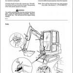 JCB 801.4,801.5,801.6 Mini Excavator Service Repair Manual