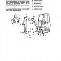 JCB 8014,8016,8018 Mini Excavator Service Repair Manual
