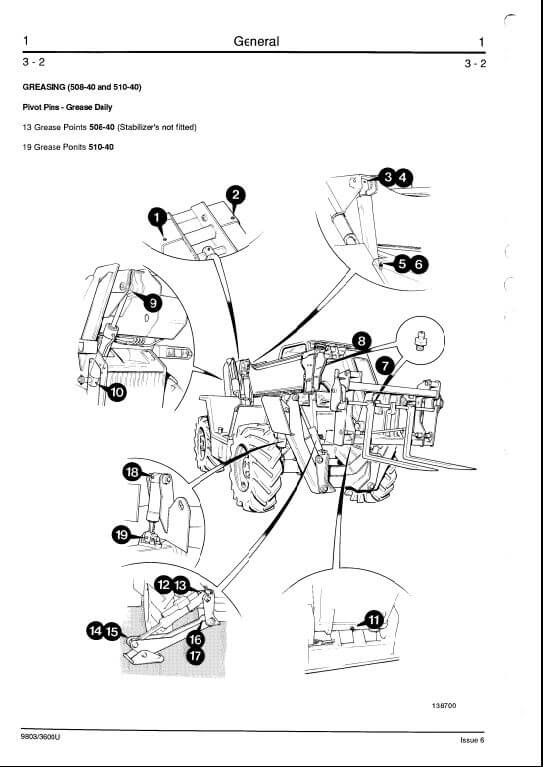 Bobcat Drive Belt Replacement Diagram, Bobcat, Free Engine