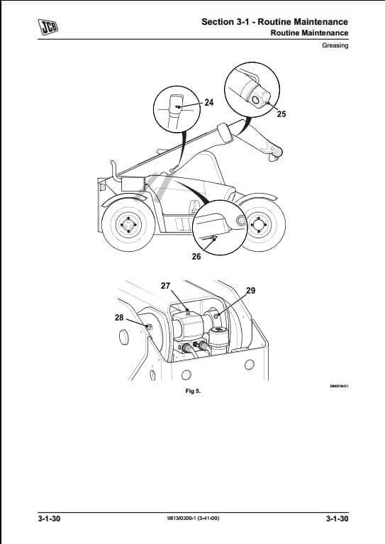 Jcb 506c Wiring Diagram For Forklifts