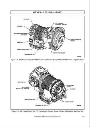 Allison Transmission 4TH Generation Controls Vocational Models Service Repair Manual | A Repair