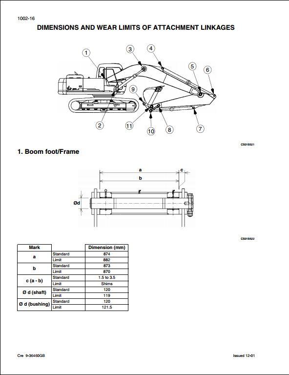 Case CX460 Crawler Excavators Service Repair Workshop