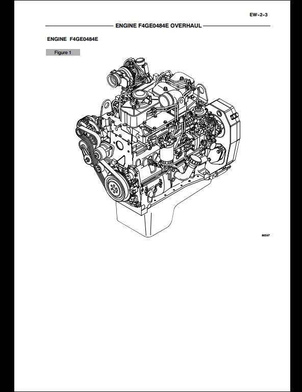 Case F4GE0484E,F4GE0684F,F4HE0684J Engine Service Repair