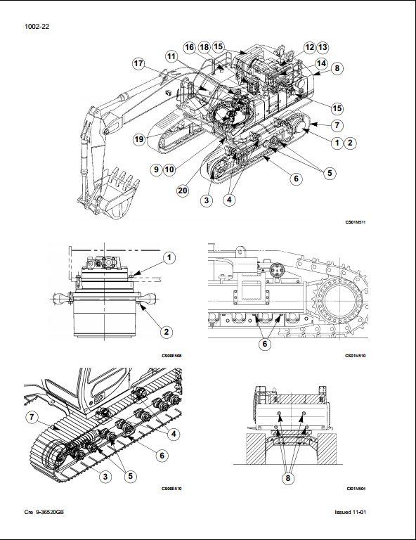 Case CX800 Crawler Excavators Service Repair Workshop