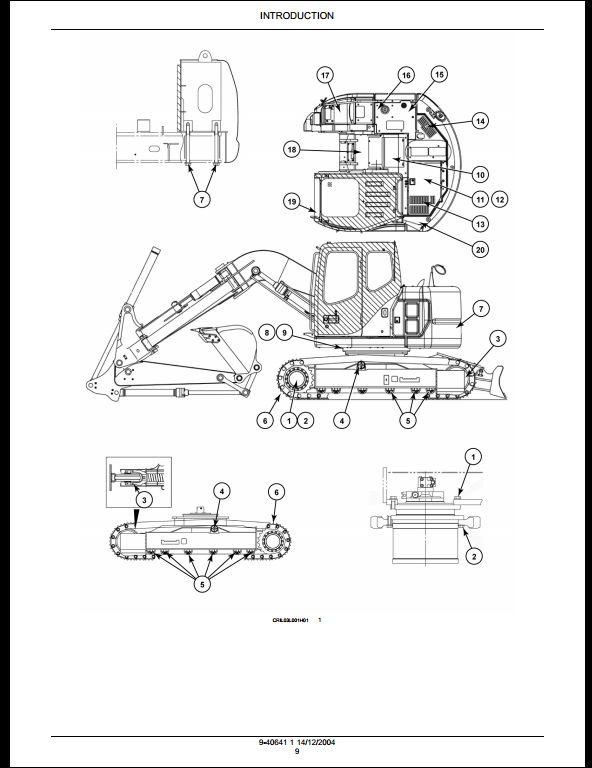 Case CX135SR Crawler Excavators Service Repair Workshop