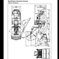 KOMATSU WA600-6 Wheel Loader Service Repair Workshop