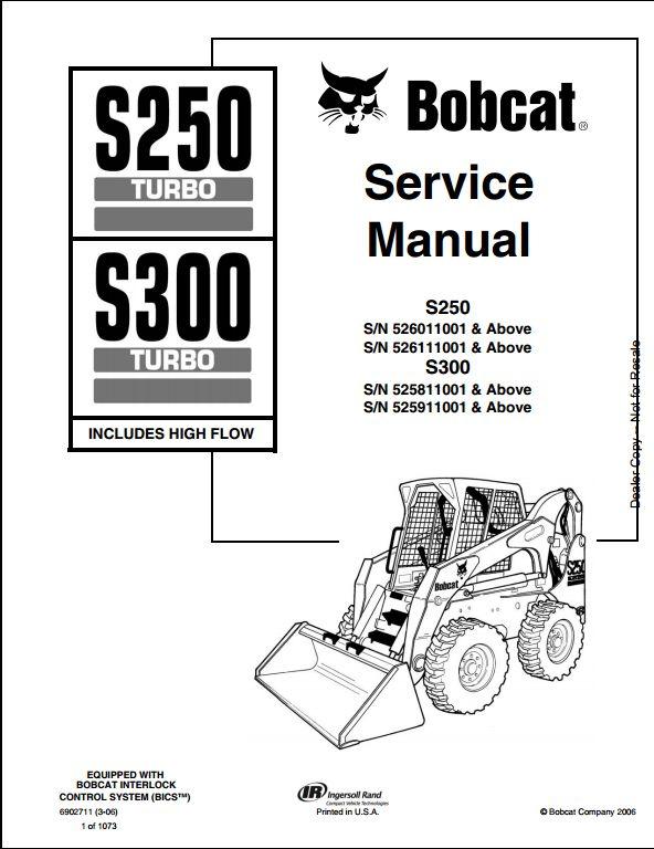 bobcat s300 schematic