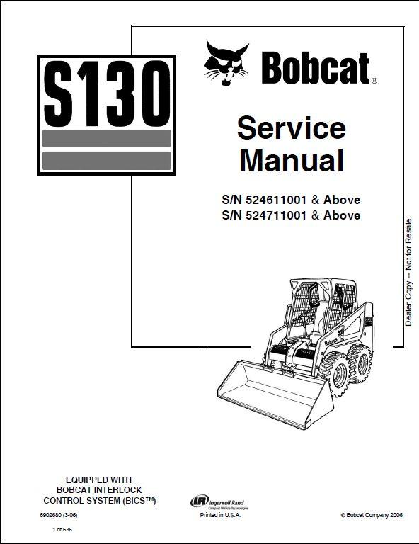 Diagram Likewise Bobcat S130 Wiring Diagram Engine Wiring Diagram