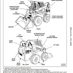Gm Truck Wiring Diagrams Electric Furnace Sequencer Diagram Bobcat S250 S300 Skid Steer Loader Service Repair Workshop Manual A5gm20001-a5gr20001 | A ...