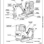 2008 Bobcat 325, 328 Compact Excavator Service Repair