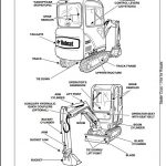 Bobcat 323 Mini Excavator Service Repair Workshop Manual
