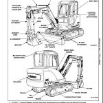 2007 Bobcat 335 Compact Excavator Service Repair Workshop