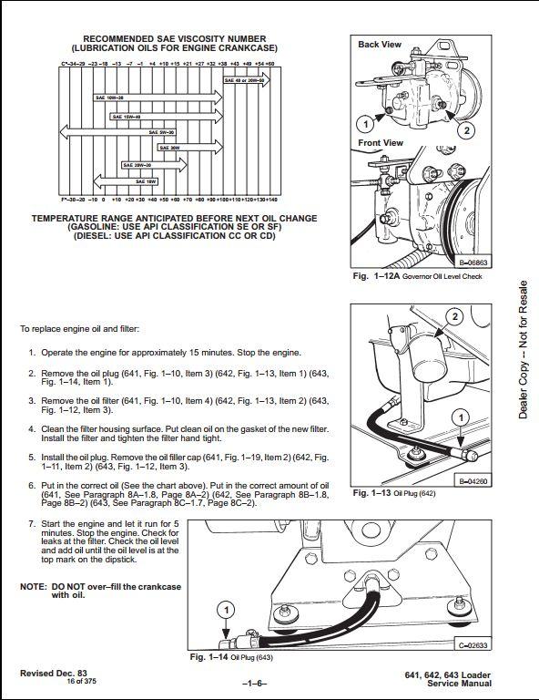 kubota wiring diagram pdf for aftermarket radio bobcat 641 642 643 skid steer loader service repair workshop manual | a store