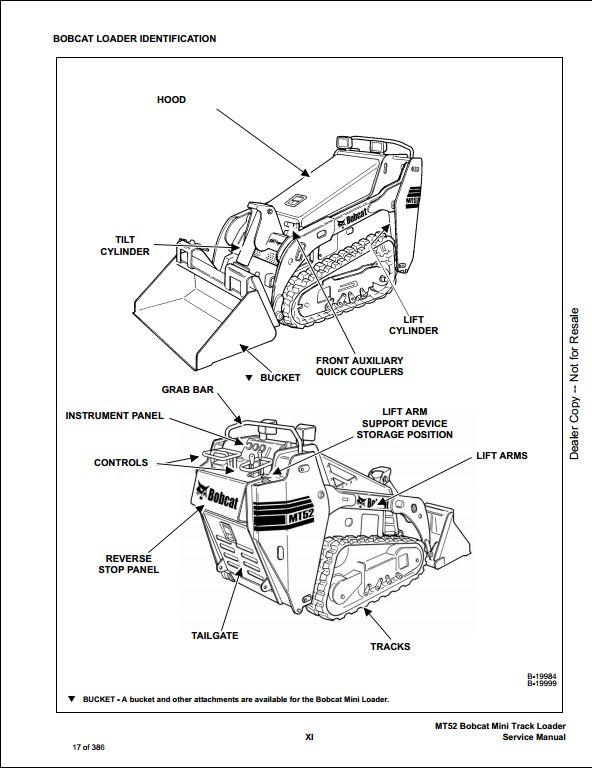 Bobcat T190 Fuse Panel, Bobcat, Free Engine Image For User