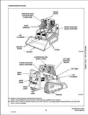 Bobcat T140 Parts Diagram | Wiring Source