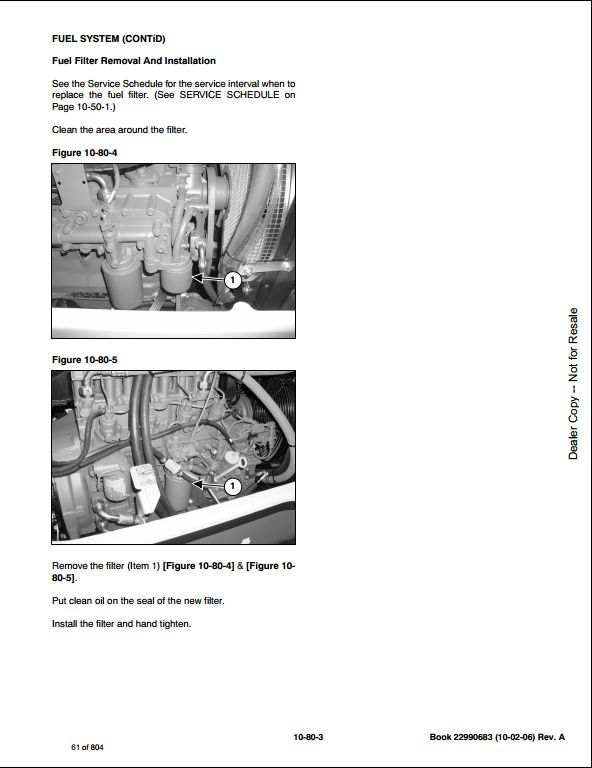 Bobcat Ingersoll Rand ZX75 Load Excavator Service Repair