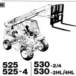 JCB 506-36, 507-42, 509-42, 510-56 Telescopic Handler