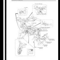 1988 Honda NX250 Motocycle Service Repair Workshop Manual