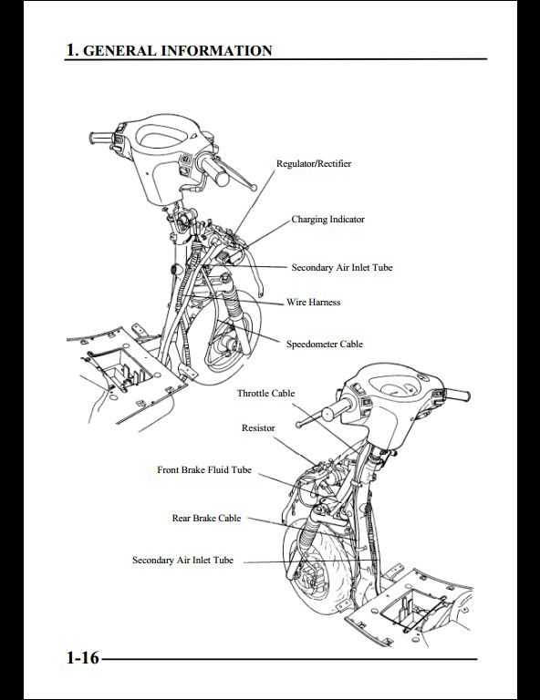 KYMCO MOVIE 125 Motocycle Service Repair Workshop Manual